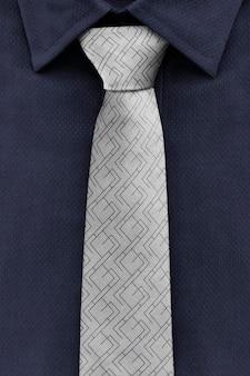 Maquete de gravata masculina psd anúncio de roupas de negócios