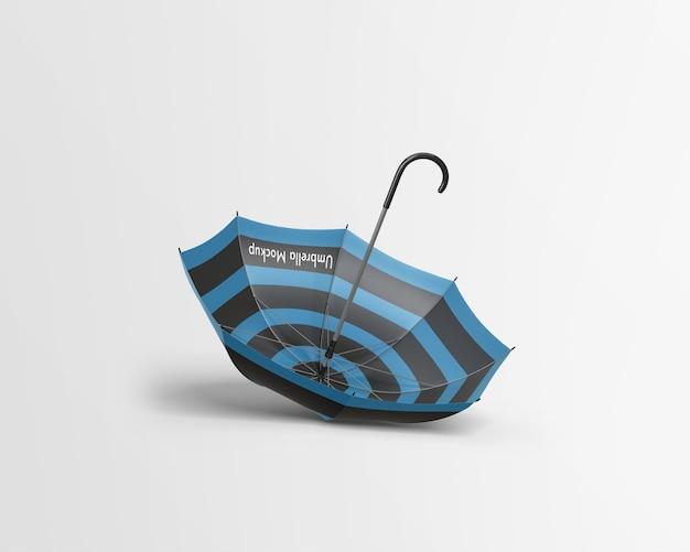 Maquete de guarda-chuva isolada