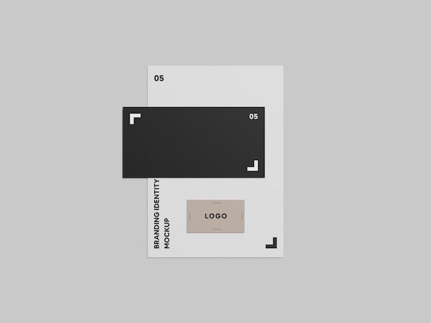 Maquete de identidade de marca nº 6