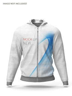 Maquete de jaqueta masculina