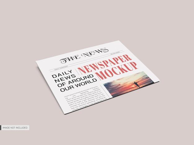 Maquete de jornal