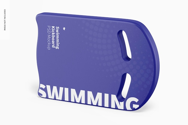 Maquete de kickboard de natação, vista direita