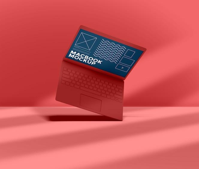 Maquete de laptop 3d