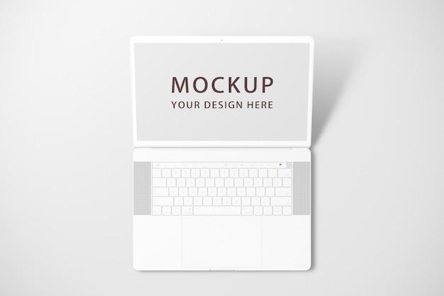 Maquete de laptop ou notebook