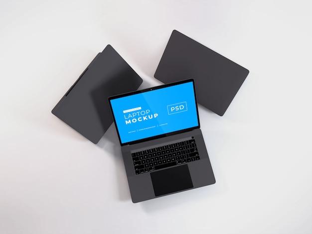 Maquete de laptop realista