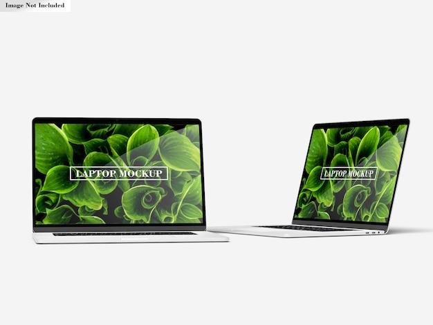 Maquete de laptops