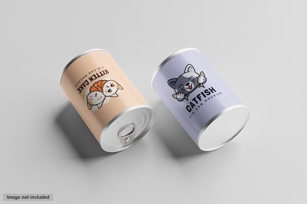 Maquete de lata de lata