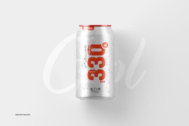 Maquete de lata de refrigerante 330ml