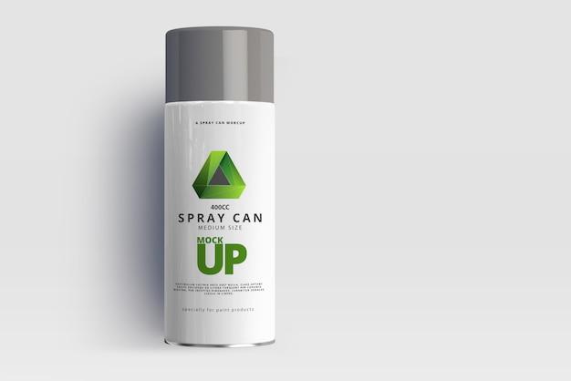 Maquete de lata de spray