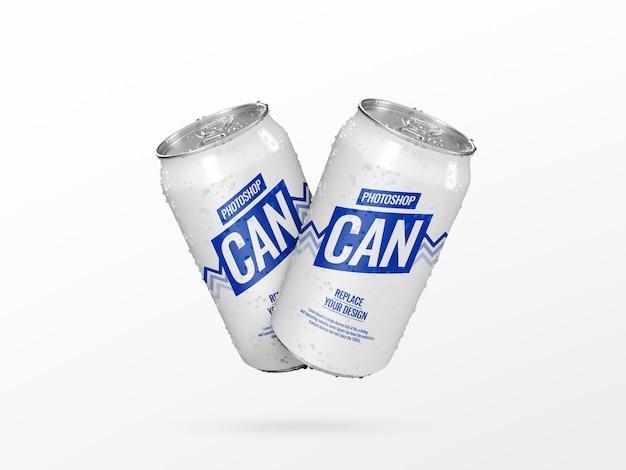 Maquete de lata dupla