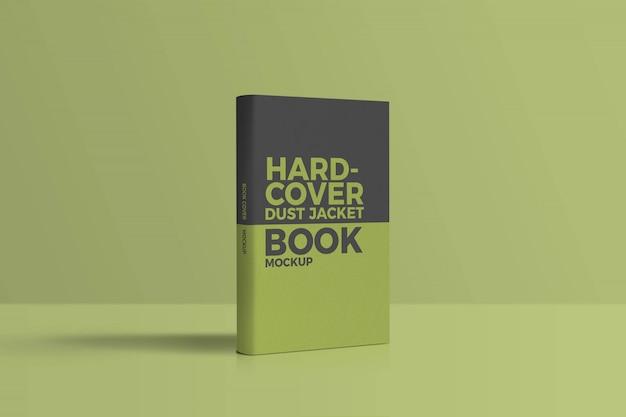 Maquete de livro de capa dura
