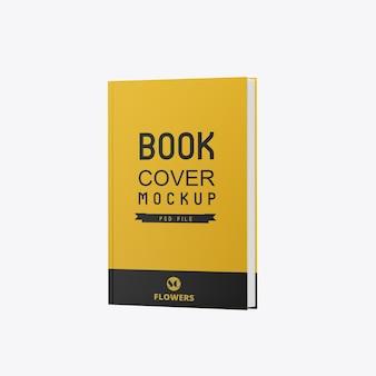 Maquete de livro fosco