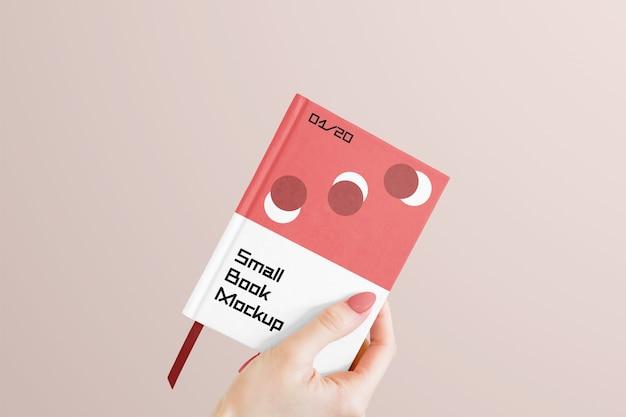 Maquete de livro pequeno