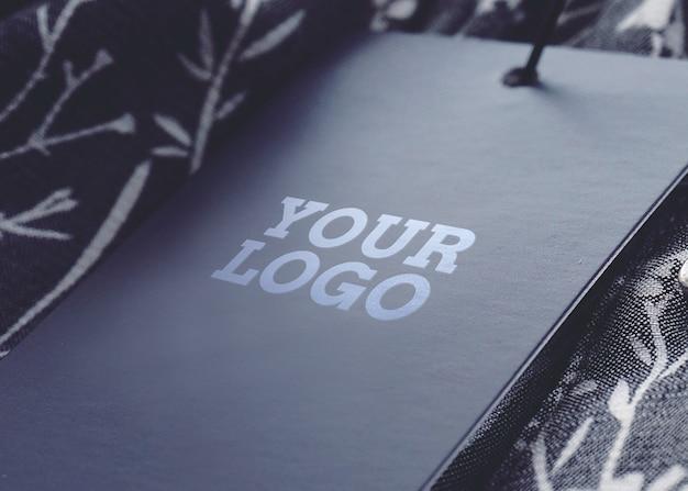 Maquete de logotipo de etiqueta de preço