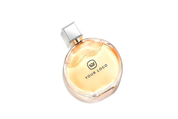 Maquete de logotipo de perfume de luxo