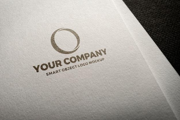 Maquete de logotipo exclusivo