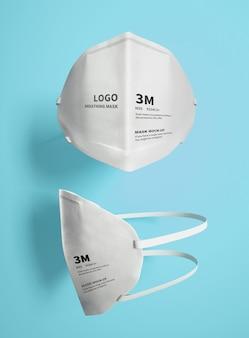 Maquete de máscara 3m