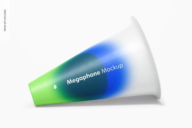 Maquete de megafone