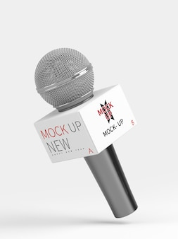 Maquete de microfone