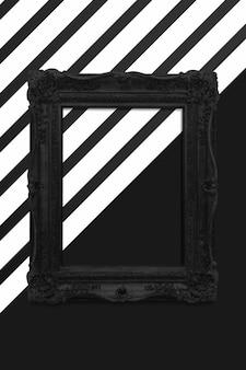 Maquete de moldura de foto vintage