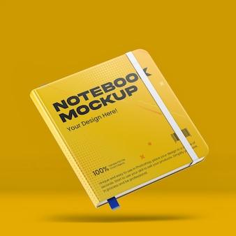 Maquete de notebook square