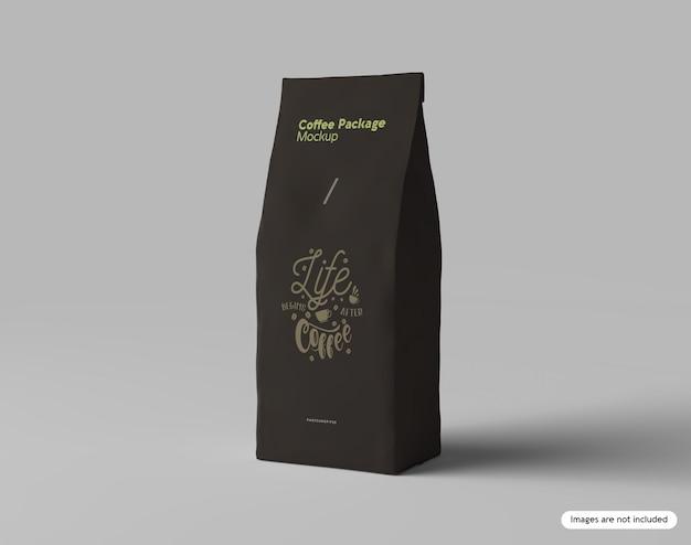 Maquete de pacote de café