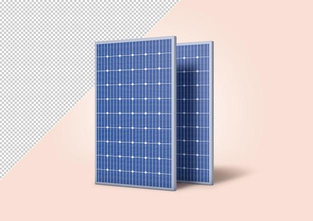 Maquete de painel solar