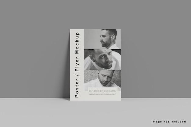 Maquete de panfleto a4 mínimo