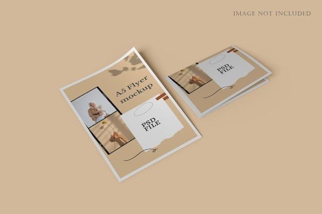 Maquete de panfleto