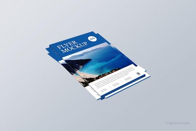 Maquete de panfletos