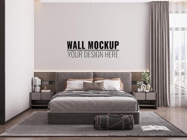 Maquete de parede interna do quarto