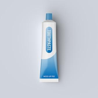 Maquete de pasta de dente