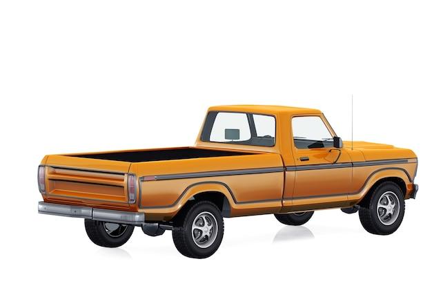 Maquete de pickup retro 1978