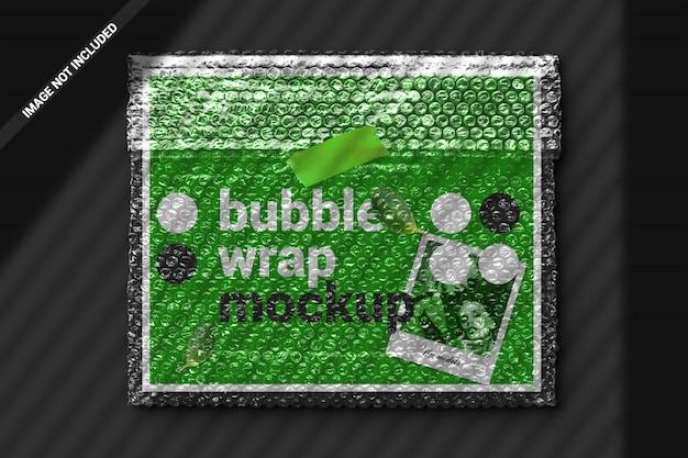 Maquete de plástico bolha