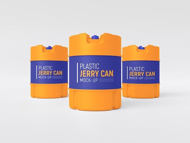 Maquete de plástico para jerry can