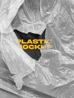 Maquete de plástico