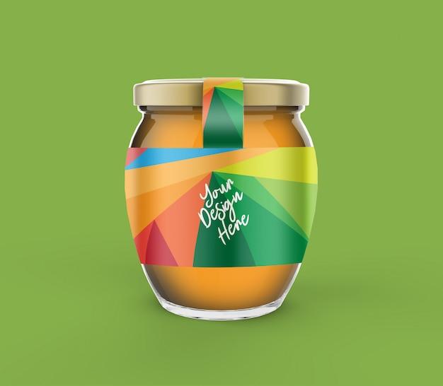 Maquete de pote de mel