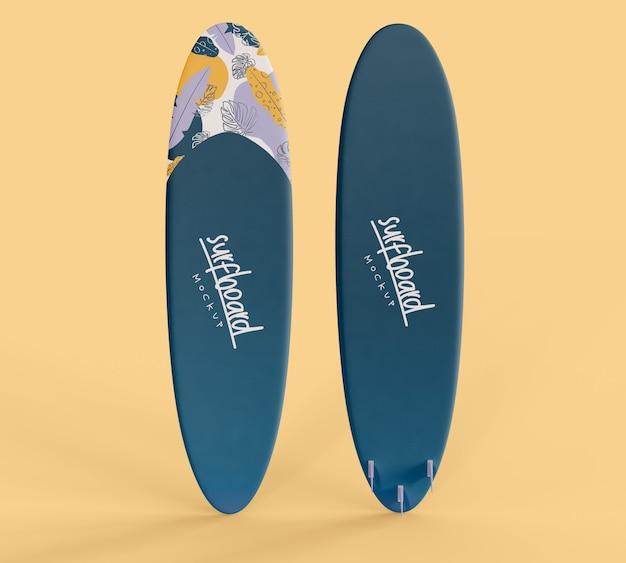 Maquete de prancha de surf