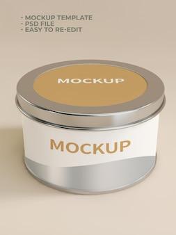 Maquete de produto cosmético de beleza