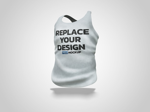 Maquete de renderização 3d de colete