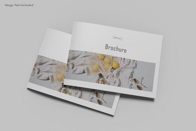 Maquete de revista a4 paisagem