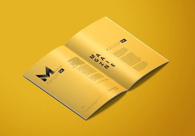 Maquete de revista a4
