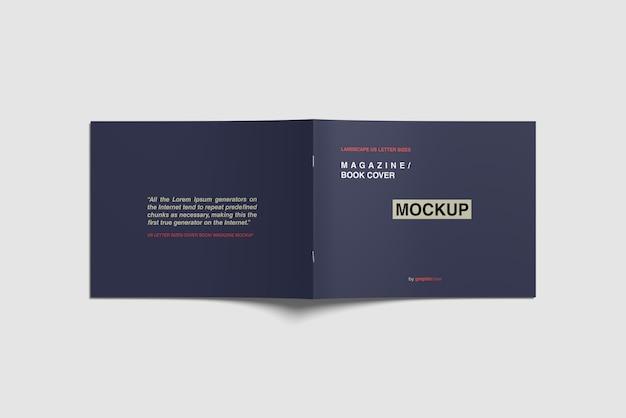 Maquete de revista de capa
