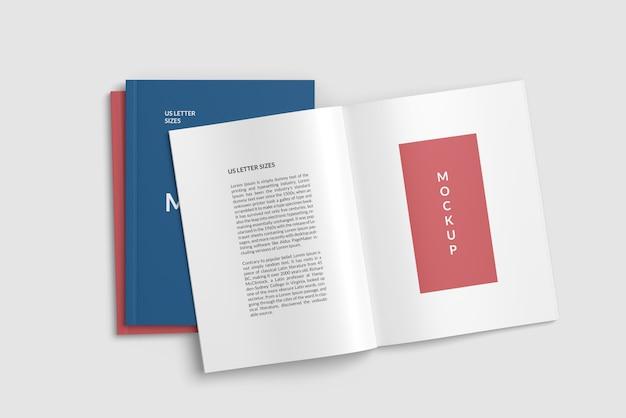 Maquete de revista e capa dois