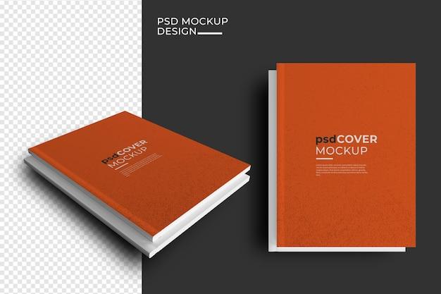 Maquete de revista editorial de capas de livro