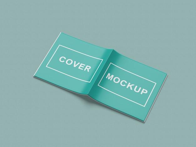 Maquete de revista quadrada