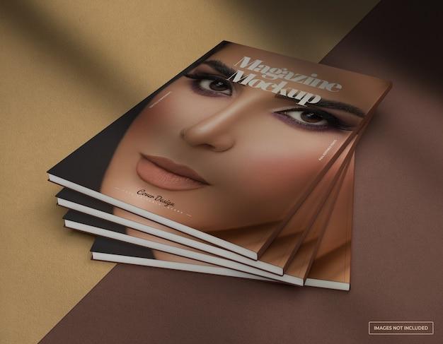 Maquete de revista realista