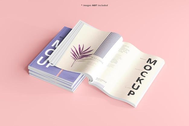 Maquete de revista