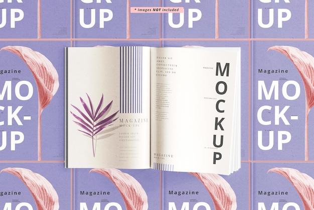 Maquete de revistas