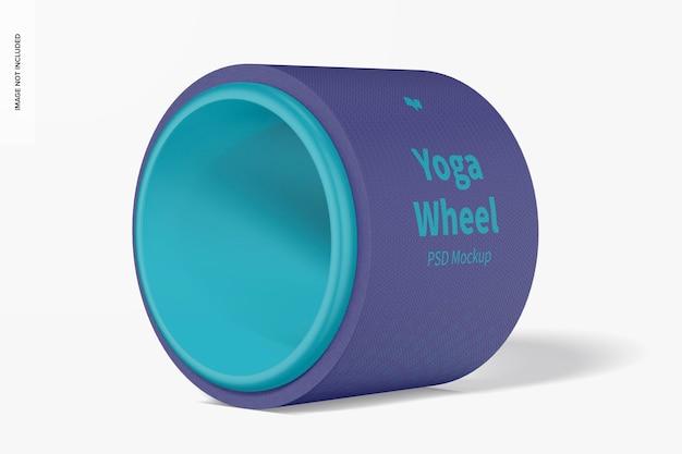 Maquete de roda de ioga